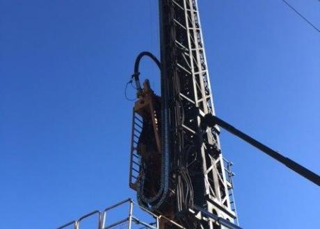 Webster Drilling rig