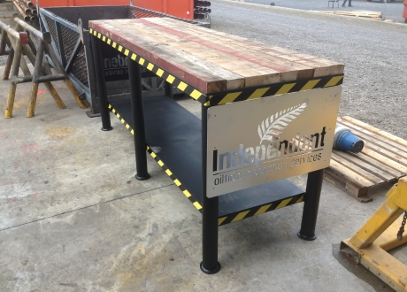 Duroweld made IOISL inspection table