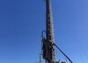 Webster Drilling rig